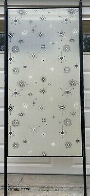 Architectural Salvage Mid Century Modern Room Divider Adjustable Panel Screen