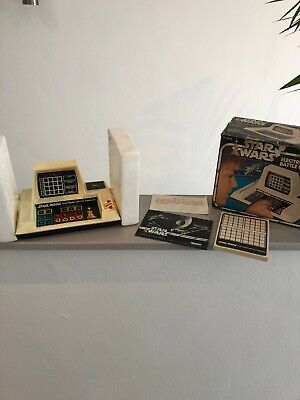 Star Wars Electronic Battle Command Game 1978