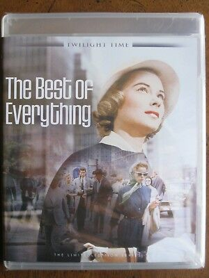 THE BEST OF EVERYTHING (1959) (Blu-Ray) TWILIGHT TIME - HOPE LANGE - BRAND NEW!!