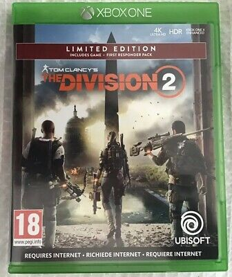 Tom Clancy's The Division 2 Limited Edition Xbox One Fast Despatch