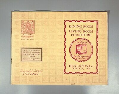 Dining Room and Living Room Furniture Heal and Son Heals 1935
