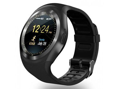 SMARTWATCH OROLOGIO iPhone ANDROID IOS CON SIM BLUETOOTH SMART WATCH MY1 NERO