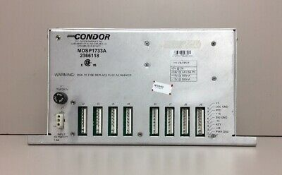 GE AMX 4 Condor MDSP1733A Power Supply