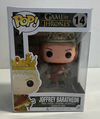 Joffrey Baratheon Game Of Thrones Vaulted Pop #14 Funko 2014