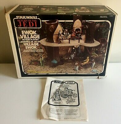 Star Wars vintage ROTJ Ewok Village Candian Kenner 1983 Box/Instructions Only