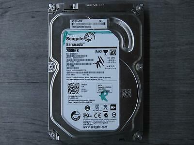 "Seagate Barracuda 2TB 3.5"" SATA 7200RPM HDD Hard Drive Disk ST2000DM001"