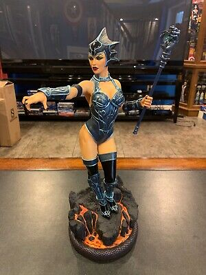 Sideshow EXCLUSIVE MOTU EVIL LYN Statue Masters Of The Universe He-Man US seller