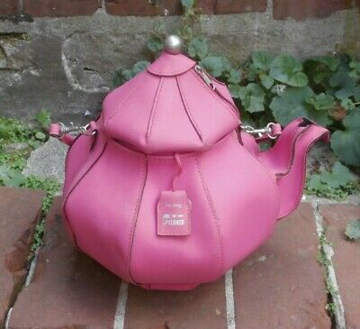 Forme Bag Sac Tea Pylones À De Rose Mains Théière En PkZiuX