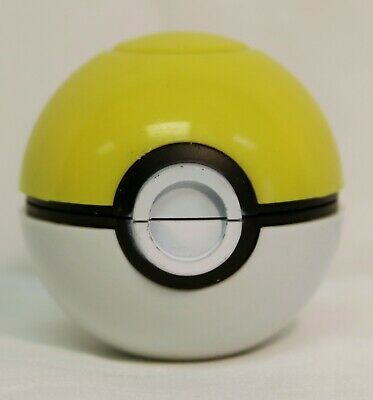 2 Inch 3 Pieces Tobacco Spice Herb Pokemon Grinder Crusher Yellow Pokeball