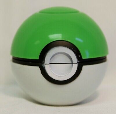 2 Inch 3 Pieces Tobacco Spice Herb Pokemon Grinder Crusher Green Pokeball