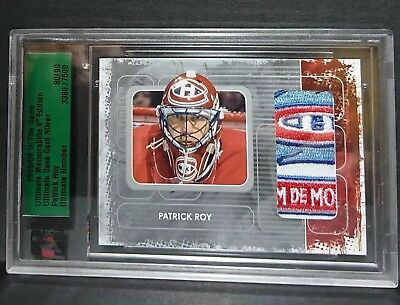 Patrick Roy 2008/09 ITG Ultimate Base /90 1993 All-Star Game PATCH Habs