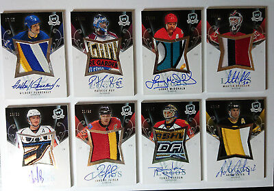 07/08 The Cup Gilbert Perreault Limited Logos Patch Auto /25