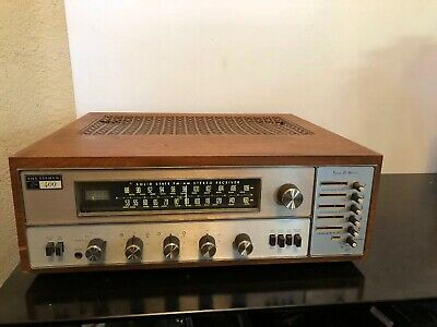 The Fisher 400T vintage solid state receiver Tune-O-Matic