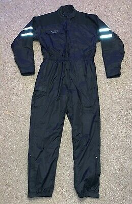 Weise Siberian Thermal Quilted Black Waterproof Oversuit Size XL Motorbike