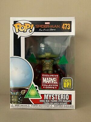 Funko POP Marvel Collector Corps Exclusive Mysterio #473 New