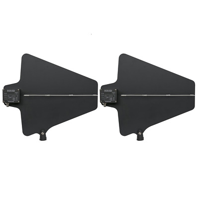 2pcs UHF Active directional Antenna (470-960MHz) works with Shure UA874