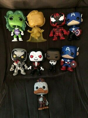 Funko Pop Marvel Loose Commons Exclusives Rare Vaulted