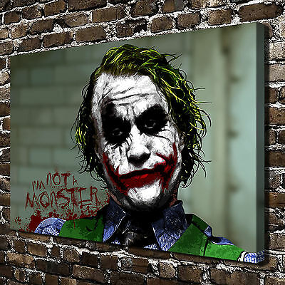 Batman Joker HD Print on Canvas Home Decor Pictures Wall Posters freme painting