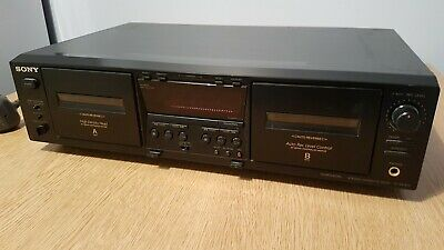 Sony TC WE475 Double Stereo Cassette Deck Separate