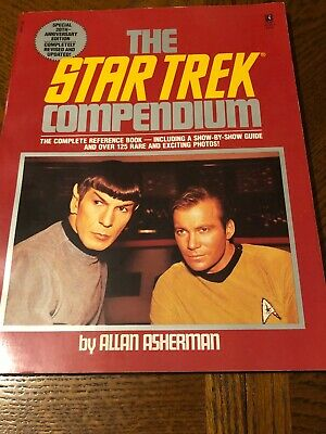 The star trek compendium. The complete reference book Special 20th anniversary.