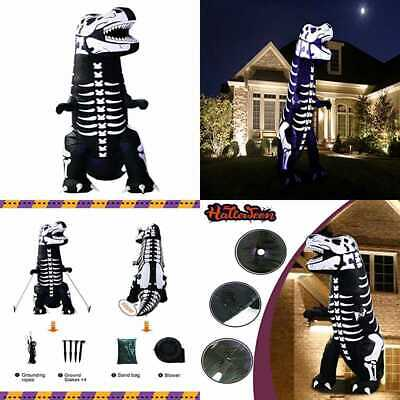 Inslife 8 Ft Inflatable Halloween Dinosaur Decoration T Rex Decorations For Home