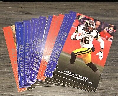 2016 Upper Deck CFL All-stars SP's Pick from List to complete your set
