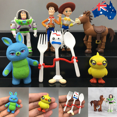 7 Pcs/Set Toy Story 4 Lightyear Buzz Woody Jessie Action Figure Model Toys Gifts