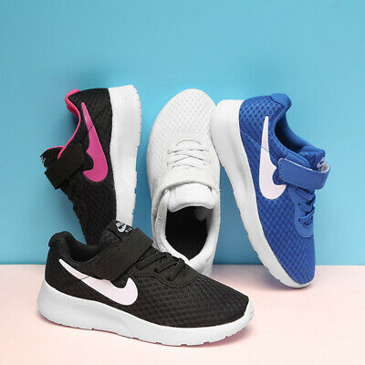Kids Boys Girls Running Trainers Slip On School Sports Shoes Mesh Sneakers Size