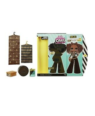 """LOL Surprise OMG Royal Bee 10"""" Fashion Doll Big Sister Queen Holiday In Hand"""