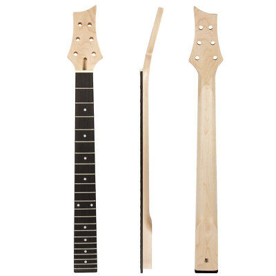 Kmise Guitar Neck Canada Maple 22 Frets Bolt On White Dots