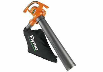 Flymo PowerVac Garden Leaf Blower & Vacuum 3000W Leaves Grass Lawn Clearing Tool