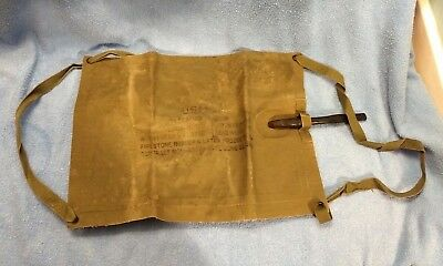 USMC WWII Firestone Flotation Bladder Dated 1944 With Straps