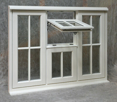 Bespoke Double Glazed NEW Timber Casement Window, ANY SIZE, made to measure