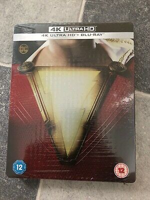 Shazam! - 4K Ultra HD + Blu-ray Steelbook - Brand New & Sealed
