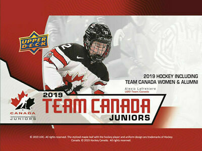 Alexis Lafreniere+++ 2019 Upper Deck Team Canada Juniors ( Pick Your Card )