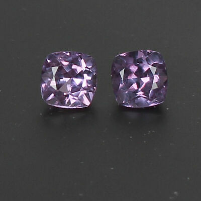 VVS1  3.90 Ct Certified Natural Color Change In Sunlight Alexandrite Pair