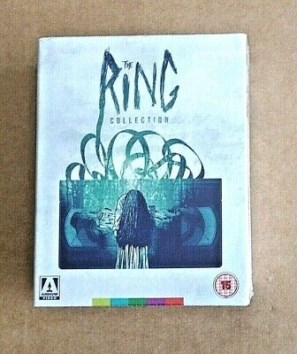 The Ring Collection Blu-ray Boxset (Arrow video) BRAND-NEW & SEALED
