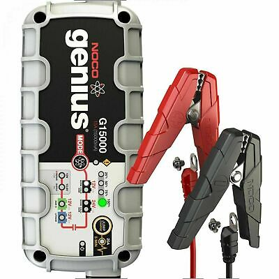 NOCO Genius G15000 UK 12V / 24V 15A UltraSafe Pro Series Smart Battery Charger