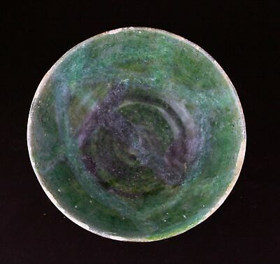 *SC* GLAZED ISLAMIC POTTERY BOWL, WESTERN-CENTRAL ASIA, 10th-11th. cent. AD!