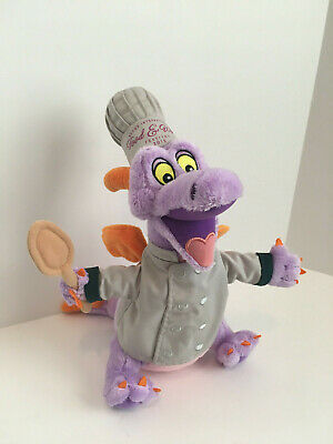 Epcot International Food & Wine Festival Figment Plush Toy 2015 #3385