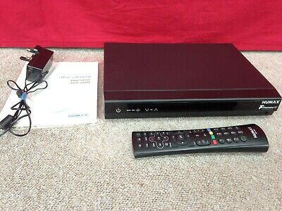 Humax HDR-1800T Freeview+ HD Smart Digital TV With Remote and Manual
