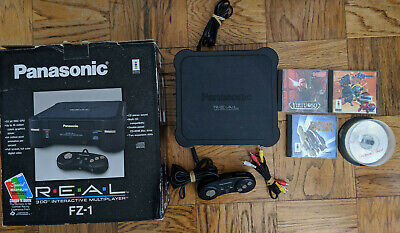 Panasonic 3DO R E A L FZ-1 System Bundle in Box Great Condition