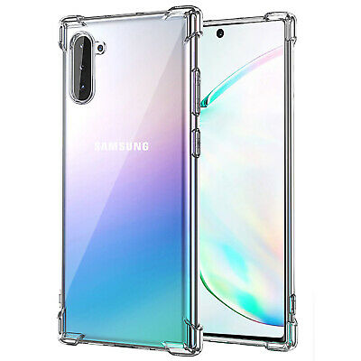 Samsung Galaxy Note 10 Case Lightweight Flexible Soft TPU Protective Cover Clear