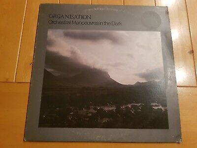 Orchestral Manoeuvres In The Dark – Organisation 1980 UK LP SYNTH POP First