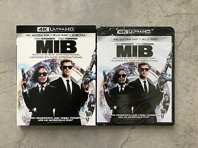 MIB: Men In Black International (4K Ultra HD + Blu-ray + Digital, Bilingual)
