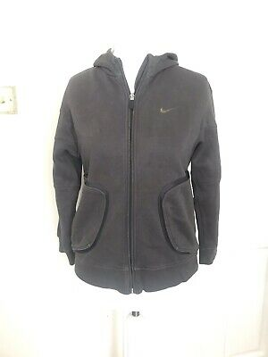 Nike Air hoodie  Age 10-12 Medium Girls Best Boys Grey  Sport Wear (C1)