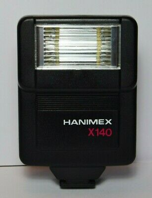 Hanimex X140 (hot) Shoe mounted compact flash - tested & fully working