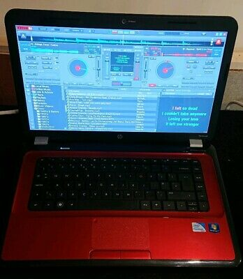 HP Virtual DJ Karaoke Disco Laptop  in good condition and full working order