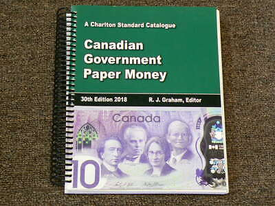🍁 2018 Charlton Catalogue Canadian Government Paper Money 30thEd. #4316
