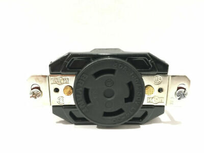 71430FR Bryant Hubbell 30A L1430R Locking Receptacle 3P 4W 125/250VAC